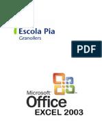Excel 2003- Teoria y Ejercicios