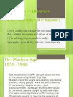 What is Modern Literature1