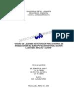 Brandt y Nieto 2005 Diseño de Lagunas de Detencion Control de Inundacion