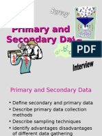 Primary and secondary Data (UNIT III).ppt