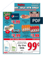 Hy-Vee Quad-Cities IL Only Ad - Thursday, July 7, 2015