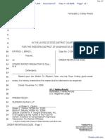 Brady v. Consolidated Freight, et al - Document No. 27