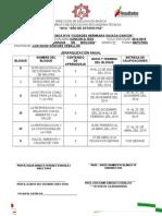 Dosificacion Biologia Aoxaca-cancun Mañana