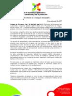 20-07-2011 Decreto municipal de austeridad se traduce en obra pública y beneficios para la población. C417