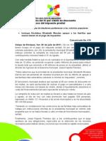 20-07-2011 Extienden campaña del 95 por ciento de descuento en multas a morosos del impuesto predial. C414