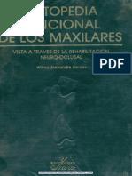 Ortopedia Funcional de Los Maxilares Simoes 1era Ed
