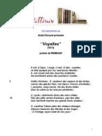 271 Rimbaud Voyelles