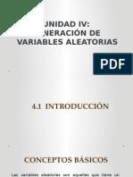 Generacion de Variables Aleatorias