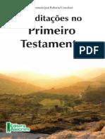 Cristofani Meditacoes No Primeiro Testamento