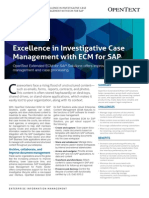Solution Brief - OT Extended ECM for Investigative Case Management