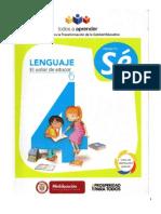 Proyecto Sé - Escuela Nueva - Lenguaje 4