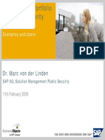 SAP Solution Public Security