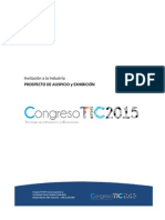 CongresoTIC 2015 - Invitación a Industria