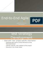End to End Agile Testing