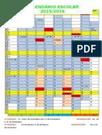 Calendário escolar15-16