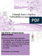 Champú Suave Angélica YIPSOPHILIA Infantil
