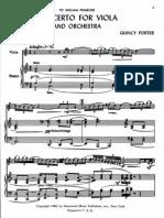 Porter, Q. - Viola Concerto (1948) (Piano Red.)