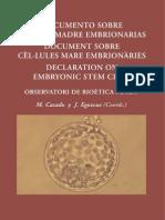 CASADo, MAriaCelulas Madre Embrionarias