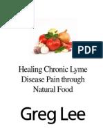 Natural Food for Lyme, Greg Lee