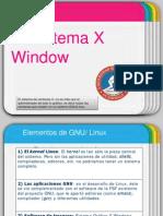 Presentación El Sistema X Window SOA