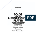 Solos For The Alto Saxophone Larry Tell SAX.pdf