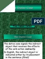 German - Dative I