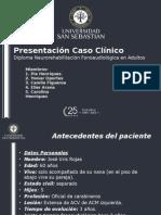 Caso Clinico Afasia No Fluente Mixta