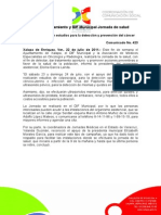 22-07-2011 Realizarán Ayuntamiento y DIF Municipal Jornada de salud. C423
