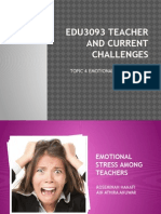 Edu3093 Teacher and Current Challenges