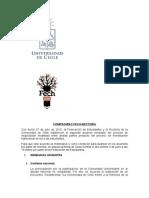 Compromiso entre FECH y Rectoría por la Universidad Pública