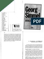 Texto 2 - SIMMEL, G Sociabilidade - Um Exemplo de Sociologia Pura Ou Formal