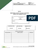 Pe 03 Identificacion y Evaluacion de Aspectos Ambientales
