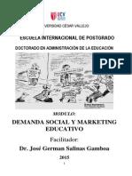 Modulo Demanda Social y Mark Educativo