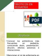 Antibioticos en Pediatría