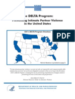 Preventing Intimate Partner Violence in the United States