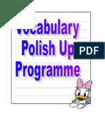 Weekly Activities of English Programme on Wednesday