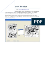 Aplikasi Comic Reader