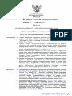 PMK Nomor 122/PMK.010/2015 Tentang Penyesuaian PTKP