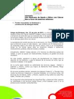 27-07-2011 Realizará Asociación Mexicana de Ayuda a Niños con Cáncer función de lucha libre a favor de menores enfermos. C439