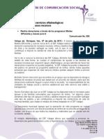 27-07-2011 Ofrece DIF Xalapa servicios oftalmológicos a personas de escasos recursos. C028