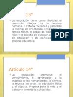 Artículo 13°