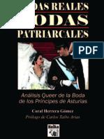 Bodas Reales, Bodas Patriarcales. Coral Herrera Gómez