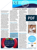 Cruise Weekly for Thu 09 Jul 2015 - Bold goals for Vanuatu, Choose Your Cruise UK, Cuba, Cape Town, MSC Opera and much more