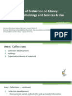 Accredition 2013-Collections & Services