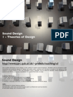 Sound Design Theory