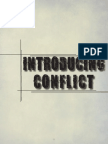 Introducing Conflict