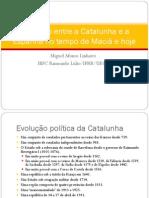 A relação entre a Catalunha e a Espanha no tempo de Macià