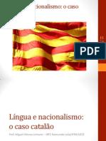 Língua e nacionalismo