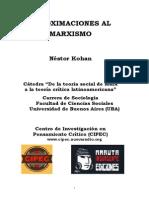 Aproximaciones Al Marxismo - Nestor Kohan (Cipec)