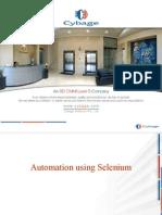 Automation Using Selenium